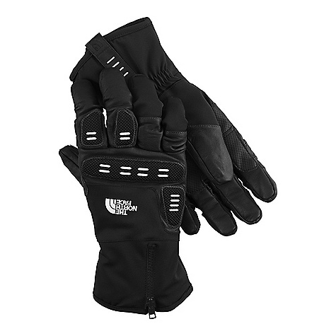 On Sale. Free Shipping. The North Face Snowborg Glove DECENT FEATURES of The North Face Snowborg Glove 5 Dimensional Fit Radiametric Articulation Unique, warm, anatomical reverse gun cut finger construction Zippered, hybrid over/under cuff gasket Burly, anatomically mapped knuckle guards The SPECS Fabric: Shell: water-resistant goat leather/SuperSpan twill, Lining: Brushed 220 g micro-fleece, Palm: Water-resistant goat leather/PU overlay, Palm Insulation: 100 g Thinsulate, Back of Hand Insulation: 8 oz PrimaLoft This product can only be shipped within the United States. Please don't hate us. - $54.99
