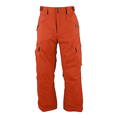 Snowboard On Sale. Free Shipping. The North Face Men's Fargo Cargo Pant DECENT FEATURES of The North Face Men's Fargo Cargo Pant Waterproof, breathable, fully seam sealed Recco avalanche rescue reflector Adjustable waist tabs Handwarmer zip pockets Flap cargo pockets with Lot Lift System Zip inner thigh vents with mesh gussets Back pockets StretchVent gaiter with gripper elastic and boot hook Chimney Venting system Clip-integration belt loops Pant-a-lock compatible Cuff-zip gussets Reinforced edge guards Buddy lift clip Imported The SPECS Fabric Lining: Thermoliner in seat and knees, mesh Fabric Shell: HyVent 2L Proweave Inseam: regular 31in., long 33in. Average Weight: 31.75 oz / 900 g This product can only be shipped within the United States. Please don't hate us. - $89.99