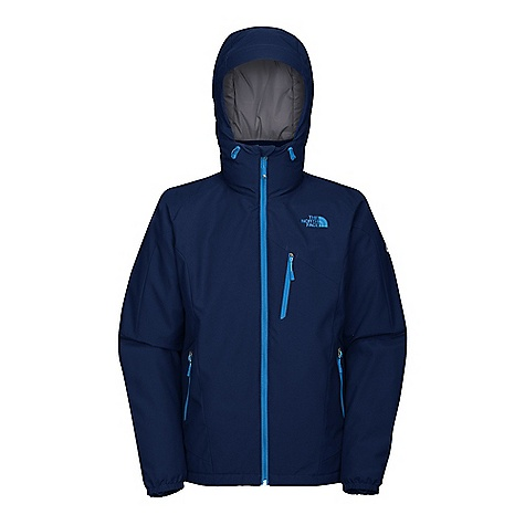 Snowboard On Sale. Free Shipping. The North Face Men's Perception Jacket DECENT FEATURES of The North Face Men's Perception Jacket Know Boundaries Snow Safety label Windproof, water resistant, breathable Recco avalanche rescue reflector Adjustable fixed hood Handwarmer zip pockets Chest zip pocket Internal media security pocket Internal goggle pocket Powder skirt with elastic grabs Adjustable hem system Elastic binding cuffs Water-resistant zippers The SPECS Fabric: Shell: Gore Windstopper 2L full dull ripstop, Lining: embossed down proof taffeta, Insulation: PrimaLoft Eco 100 g This product can only be shipped within the United States. Please don't hate us. - $149.99
