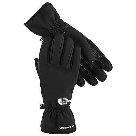 Free Shipping. The North Face Women's TNF Insulated Apex Glove DECENT FEATURES of The North Face Women's TNF Insulated Apex Glove Women-specific 5 Dimensional Fit ensures consistent sizing Radiametric Articulation keeps hands in their natural relaxed position Insulated yet breathable Long-lasting DWR finish keeps gloves dry Silicone gripper palm pattern provides superior grip The SPECS Shell: TNF Apex ClimateBlock with DWR Lining: Brushed tricot Palm: Silicone gripper Back-of-Hand Insulation: 100 g Heatseeker This product can only be shipped within the United States. Please don't hate us. - $54.95