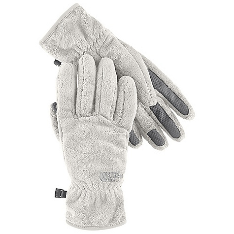 The North Face Women's Shiso Glove DECENT FEATURES of The North Face Women's Shiso Glove Women-specific 5 Dimensional Fit ensures consistent sizing Radiametric Articulation keeps hands in their natural relaxed position Silken fleece is super warm yet low profile Synthetic gripper palm provides superior grip Elastic wrists seal out the cold The SPECS Shell: 100% polyester short-pile Silken fleece Palm: Polyurethane (PU) gripper This product can only be shipped within the United States. Please don't hate us. - $39.95