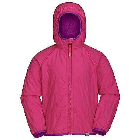 On Sale. Free Shipping. The North Face Toddler Girls' Reversible Lil' Breeze Wind Jacket DECENT FEATURES of The North Face Toddler Girls' Reversible Lil' Breeze Wind Jacket Reflective zip pull at center front Two welted hand pockets All-over quilting throughout body Reversible Reflective logo label at hood opening Fixed hood Elastic binding at hood, cuffs and hem ID label Logo clip label at hem Contains 53% recycled content by weight Imported The SPECS Average Weight: 8.11 oz / 230 g Center Back Length: 15.25in. Body: 50D 76 g/m2 100% recycled polyester taffeta with DWR (bluesign approved fabric) Lining: Raschel fleece, 230 g/m2 100% polyester high-pile Silken fleece This product can only be shipped within the United States. Please don't hate us. - $44.99
