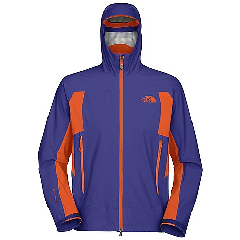 On Sale. Free Shipping. The North Face Men's Leonidas Jacket DECENT FEATURES of The North Face Men's Leonidas Jacket Performance fit Waterproof, breathable, seam sealed Attached storm-secure hood Polyurethane (PU) zip hand pockets Pit-zip vents Non-abrasive molded cuffs Storm-secure hem Imported The SPECS Average Weight: 11.8 oz / 400 g Center Back Length: 29in. 40D 138 g/m2 (4.07 oz/yd2) 100% nylon HyVent 2.5L with four-way mechanical stretch This product can only be shipped within the United States. Please don't hate us. - $128.99