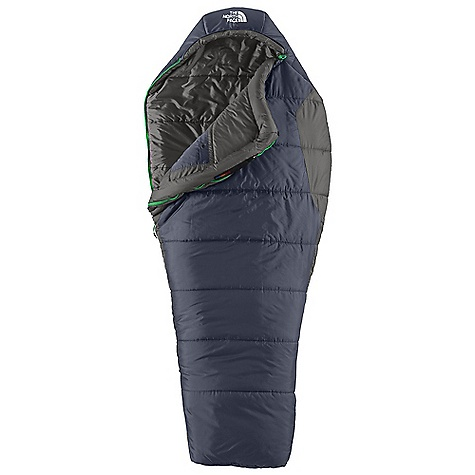 Camp and Hike Free Shipping. The North Face Aleutian 3S 20 Degree Sleeping Bag DECENT FEATURES of The North Face Aleutian 3S 20 Degree Sleeping Bag Heatseeker synthetic insulation Soft ripstop polyester shell Internal watch pocket Screen-printed stuffsack The SPECS Temperature Rating: 20deg F / -7deg C Comfort: 30deg F / -1deg C Limit: 19deg F / -7deg C Extreme: -14deg F / -25deg C Fill: Heatseeker Shape: Mummy The SPECS for Regular Total Weight: 3 lbs 10 oz / 1655 g Fill Weight: 2 lbs 7 oz / 1100 g Compressed Size: 1247 cubic inches / 20.4 liter Stuffsack Size: 9 x 16in. / 23 x 41 cm The SPECS for Long Total Weight: 3 lbs 12 oz / 1710 g Fill Weight: 2 lbs 9 oz / 1160 g Compressed Size: 1368 cubic inches / 22.4 liter Stuffsack Size: 10 x 18in. / 25 x 46 cm The SPECS for Extra Long Total Weight: 4 lbs 1 oz / 1850 g Fill Weight: 2 lbs 12 oz / 1260 g Compressed Size: 1440 cubic inches / 23.6 liter Stuffsack Size: 10 x 18in. / 25 x 46 cm This product can only be shipped within the United States. Please don't hate us. - $108.95