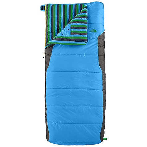 Camp and Hike Free Shipping. The North Face Youth Dolomite 3S 20 Degree Sleeping Bag DECENT FEATURES of The North Face Youth Dolomite 3S 20 Degree Sleeping Bag Heatseeker synthetic insulation Soft ripstop polyester shell Internal watch pocket Screen-printed stuffsack The SPECS Temperature Rating: 20deg F / -7deg C Total Weight: 3 lbs 3 oz / 1445 g Stuffsack Size: 10 x 18in. / 25 x 46 cm Fill: Heatseeker Fill Weight: 2 lbs / 900 g Shape: Rectangular Compressed Size: 730 cubic inches / 12 liter This product can only be shipped within the United States. Please don't hate us. - $88.95