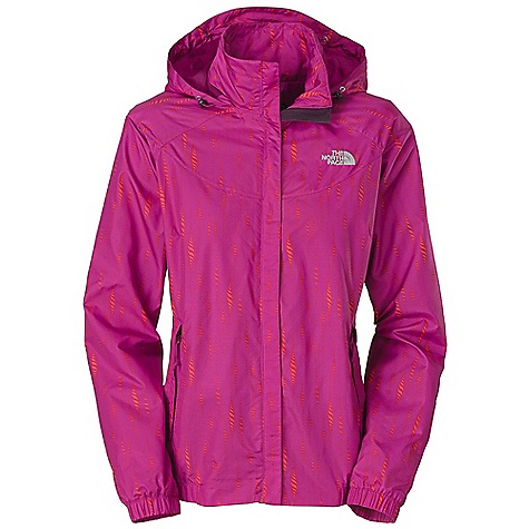 Free Shipping. The North Face Women's Geosphere Jacket DECENT FEATURES of The North Face Women's Geosphere Jacket Standard fit Fabric wind permeabilty rated at 0-5 CFM Fully adjustable hood rolls into collar Brushed collar lining Two hand pockets Hem cinch-cord Jacket stows in left-hand pocket Contains 54% recycled content by weight Imported The SPECS Average Weight: 9.7 oz / 330 g Center Back Length: 26.5in. 50D 78 g/m2 (2.3 oz/yd2) 100% recycled polyester ripstop with DWR This product can only be shipped within the United States. Please don't hate us. - $79.95