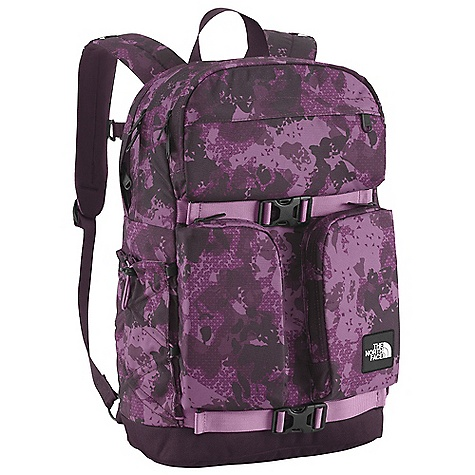 On Sale. Free Shipping. The North Face Women's Mondaze Pack DECENT FEATURES of The North Face Women's Mondaze Pack Women-specific, FlexVent injection-molded shoulder straps Comfortable, padded airmesh back panel with zippered stash pocket Zippered, dedicated laptop compartment Large main compartment Front, durable, waterresistant zippered pocket with padded phone pocket, electronics pocket and exterior tricot-lined stash pocket Two vertical front stash pockets Bungee side water bottle pockets Removable sternum strap Compatible with most 15in. laptops Imported The SPECS Average Weight: 2 lbs 1 oz / 940 g Volume: 1526 cubic inches / 25 liter 630D ballistics nylon, 1200D polyester, 600D polyester print This product can only be shipped within the United States. Please don't hate us. - $63.99
