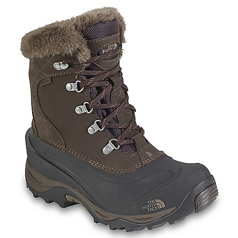 Free Shipping. The North Face Women's Mcmurdo II Boot DECENT FEATURES of The North Face Women's Mcmurdo II Boot Upper: Waterproof, BLC-Silver-compliant nubuck leather upper Waterproof construction for the ultimate weather protection 400 g PrimaLoft Eco recycled insulation Faux-fur collar Rustproof metal hardware Anatomically engineered, injection-molded waterproof TPR shell with forefoot grooves Northotic+ dual-density footbed with softer heel and forefoot-cushioning pads Bottom: Compression-molded EVA midsole Durable TNF Winter Grip rubber outsole IcePick temperaturesensitive outsole lugs for increased traction The SPECS Last: L\TNF-SB-01 Approx Weight: 1/2 pair: 1 lb 9 oz / 711 g, pair: 3 lbs 2 oz / 1422 g This product can only be shipped within the United States. Please don't hate us. - $129.95