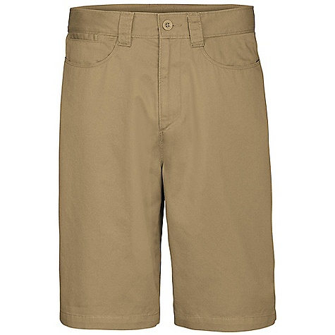 On Sale. The North Face Men's Silverton Short DECENT FEATURES of The North Face Men's Silverton Short Soft, peached cotton with heritage wash Ultraviolet Protection Factor (UPF) 50 Gusset at crotch Secure back pockets with Velcro closure Imported The SPECS Average Weight: 12.4 oz / 350 g Inseam: regular: 10in. 100% cotton This product can only be shipped within the United States. Please don't hate us. - $25.99