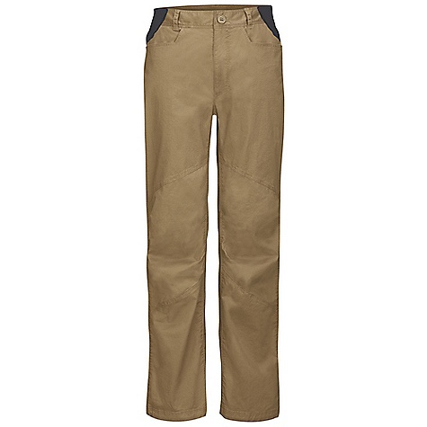 On Sale. Free Shipping. The North Face Men's Bishop Pant DECENT FEATURES of The North Face Men's Bishop Pant Midweight stretch fabric with heritage wash Ultraviolet Protection Factor (UPF) 50 Stretch inserts at waistband for comfort and fit Harness friendly Envelope-entry back pockets Gusset at crotch Articulation at knees Cinch-cord at bottom hem Zip utility pocket Imported The SPECS Average Weight: 20.5 oz / 580 g Inseam: short: 30in., regular: 32in. Body: 194 g/m2 99% cotton, 1% elastane Stretch Inserts: 142 g/m2 87% polyester, 13% elastane (bluesign approved fabric) This product can only be shipped within the United States. Please don't hate us. - $47.99