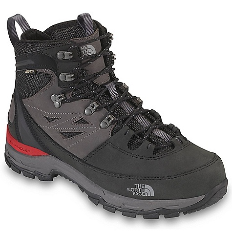 Camp and Hike Free Shipping. The North Face Men's Verbera Hiker GTX Boot DECENT FEATURES of The North Face Men's Verbera Hiker GTX Boot Upper: Gore-Tex waterproof, breathable membrane Nubuck leather upper with ballistic mesh Locking instep eyelet Northotic Pro upgraded EVA footbed with Poron ReSource heel and forefoot-cushioning pads and ESS Cradle support Bottom: Cradle heel-cushioning and stability technology Compression-molded EVA midsole Exclusive Vibram outsole 80% post-consumer recycled Bi-Fit insole board is ergonomically tuned to achieve the desired flexibility level The SPECS Last: TNF-S12-06 Approx Weight: 1/2 pair: 1 lb 5 oz / 600 g, pair: 2 lbs 10 oz / 1200 g This product can only be shipped within the United States. Please don't hate us. - $179.95