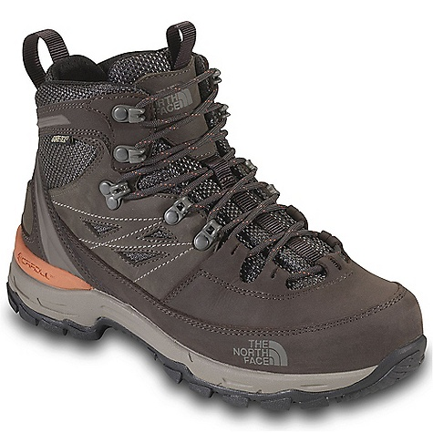 Camp and Hike Free Shipping. The North Face Women's Verbera Hiker GTX Boot DECENT FEATURES of The North Face Women's Verbera Hiker GTX Boot Upper: Gore-Tex waterproof, breathable membrane Nubuck leather upper with ballistic mesh Locking instep eyelet Northotic Pro upgraded EVA footbed with Poron ReSource heel and forefoot-cushioning pads and ESS Cradle support Bottom: Cradle heel-cushioning and stability technology Compression-molded EVA midsole Exclusive Vibram outsole 80% post-consumer recycled Bi-Fit insole board is ergonomically tuned to achieve the desired flexibility level The SPECS Last: L/TNF-S12-06 Approx Weight: 1/2 pair: 1 lb 2 oz / 499 g, pair: 2 lbs 4 oz / 998 g This product can only be shipped within the United States. Please don't hate us. - $179.95