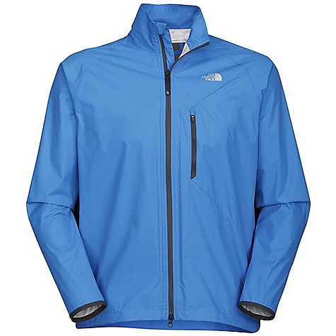 Free Shipping. The North Face Men's Indylite Jacket DECENT FEATURES of The North Face Men's Indylite Jacket Wind and water resistant, breathable Critically taped seams Two-way center front zips with draft flap Mesh side panels for ventilation Stretch-mesh back yoke cape vent Binding sleeve cuff opening Zip mesh-venting chest pocket with internal wire routing Zip back stow pocket with reflective infusion Jacket stuffs into back zip security pocket Elliptical hem Reflective logo and graphic The SPECS Average Weight: 8.47 oz / 240 g Center Back Length: 29in. Shell: HyVent 2.5L mini-ripstop Underarm Panel: 100% polyester mesh This product can only be shipped within the United States. Please don't hate us. - $98.95
