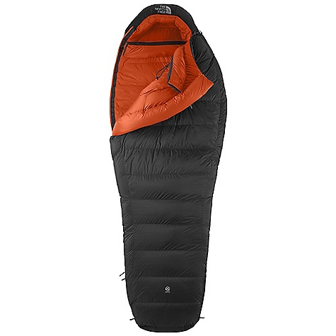 Camp and Hike Free Shipping. The North Face Inferno -20 Degree Sleeping Bag DECENT FEATURES of The North Face Inferno -20 Degree Sleeping Bag 850+ fill goose down 20D Pertex Endurance shell Side-block chevron baffles Vaulted footbox Winter heat trap with center draw Expedition fit Compression stuffsack doubles as a summit pack The SPECS Temperature Rating: -20deg F / -29deg C Fill: 850+ Down Fill Weight: 2 lbs 2 oz / 964 g Shape: Mummy Stuff Size: 21 x 11in. / 53 x 28 cm The SPECS for Regular Total Weight: 3 lbs 6 oz / 1531 g Compressed Volume: 730 cubic inches / 12 liter The SPECS for Long Total Weight: 3 lbs 10 oz / 1644 g Compressed Volume: 790 cubic inches / 13 liter This product can only be shipped within the United States. Please don't hate us. - $568.95