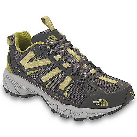 On Sale. Free Shipping. The North Face Women's Ultra 50 Shoe DECENT FEATURES of The North Face Women's Ultra 50 Shoe Upper: Breathable mesh Synthetic and webbing upper midfoot support Protective TPU toe cap Bottom: Compression-molded EVA midsole ESS midfoot shank UltrATAC rubber outsole Accordion forefoot detail promotes flexibility Imported The SPECS Last: L\TNF-003A Approx Weight: 1/2 pair: 9 oz / 256 g, pair: 1 lb 2 oz / 512 g This product can only be shipped within the United States. Please don't hate us. - $71.99