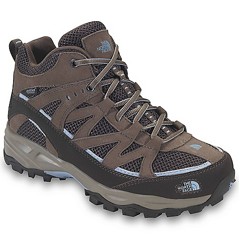Camp and Hike Free Shipping. The North Face Women's Tyndall Mild Waterproof Boot DECENT FEATURES of The North Face Women's Tyndall Mild Waterproof Boot Upper: Combination PU-coated and suede leather upper with breathable air mesh Dual-density Northotic foot bed Hydro Seal waterproof membrane Bottom: Injection molded EVA midsole Midfoot steel shank High-abrasion UltrATAC rubber outsole The SPECS Last: L\TNF-005A Approx Weight: 1/2 pair: 13.1 oz / 372 g, pair: 1 lb 10 oz / 744 g This product can only be shipped within the United States. Please don't hate us. - $100.00