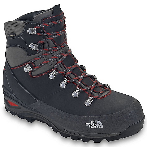 Camp and Hike Free Shipping. The North Face Men's Verbera Backpacker GTX Boot DECENT FEATURES of The North Face Men's Verbera Backpacker GTX Boot Upper: Gore-Tex waterproof, breathable membrane Full-grain Italian leather upper Smart lite PU mudguard Stainless steel upper eyelets and locking instep eyelet Northotic Pro+ premium EVA footbed with gel heel and OrthoLite forefoot-cushioning pads and TPU Cradle support Bottom: TPU Cradle heel-stability technology Four-part, co-molded midsole Agile PU body and EVA heel cushioning TPU shank Vibram Masai outsole Polypropylene lasting board The SPECS Last: TNF-S12-06 Approx Weight: 1/2 pair: 1 lb 12 oz / 804 g, pair: 3 lbs 8 oz / 1608 g This product can only be shipped within the United States. Please don't hate us. - $259.95