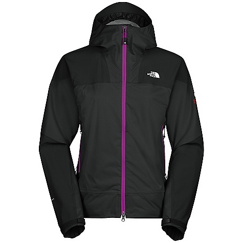 On Sale. Free Shipping. The North Face Women's Leonidas Jacket DECENT FEATURES of The North Face Women's Leonidas Jacket Performance fit Waterproof, breathable, seam sealed Fully adjustable hood with hidden cord locks and laminated hood brim Polyurethane (PU) zips Two hand pockets Pit-zips Storm-secure cuffs The SPECS Source: Imported Average Weight: 8 oz / 270 g Center Back: 26in. Fabric: 20D 95g/m2 (2.8 oz/yd2) 100% polyester HyVent 2L This product can only be shipped within the United States. Please don't hate us. - $119.99