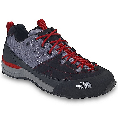 Camp and Hike Free Shipping. The North Face Men's Verto Approach Shoe DECENT FEATURES of The North Face Men's Verto Approach Shoe Upper: Synthetic microsuede and ballistic nylon leather upper TPU midfoot support welding Protective rubber toe cap and mudguard Northotic Pro upgraded EVA footbed Bottom: Cradle heel-cushioning and stability technology Compression-molded EVA midsole Vibram IdroGrip DOT rubber outsole 80% post-consumer recycled Bi-Fit insole board is ergonomically tuned to achieve the desired flexibility level The SPECS Last: TNF-S12-02 Approx Weight: 1/2 pair: 15 oz / 425 g, pair: 1 lb 14 oz / 850 g This product can only be shipped within the United States. Please don't hate us. - $109.95