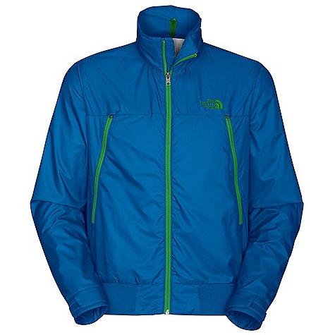 On Sale. Free Shipping. The North Face Men's Diablo Wind Jacket DECENT FEATURES of The North Face Men's Diablo Wind Jacket Attached, stowable hood Back cape vent Two alpine pockets Internal media storage pocket Velcro adjustable cuffs Rib at hem for comfort Reverse-coil center front zip with inner draft flap Reverse-coil hand pocket zips and internal media pocket with egress Rib at cuffs and waistband Embroidered logo at left chest and back right shoulder Imported The SPECS Average Weight: 18 oz / 510 g Center Back Length: 27.5in. 40D 65.0 g/m2 (2.29 oz/yd2) 53% recycled polyester, 47% polyester This product can only be shipped within the United States. Please don't hate us. - $59.99
