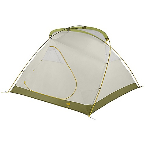 Camp and Hike Free Shipping. The North Face Bedrock 6 Tent DECENT FEATURES of The North Face Bedrock 6 Tent Double doors and double vestibules S/R rainfly attachment Comprehensive color-coded pitch Fully seam-taped, 70D nylon floor Side vents PU window Steel stakes The SPECS Capacity: 6 Person Average Weight: 1 lb 7 oz / 652 g Total Weight: 16 lbs 3 oz / 7.34 kg Trail Weight: 14 lbs 12 oz / 6.70 kg Footprint Weight: 1 lb 7 oz / 0.65 kg Floor Area: 84.3 square feet / 7.8 square meter Vestibules: 2 Vestibules Area: front: 17.3 square feet / 1.6 square meter, back: 17.3 square feet / 1.6 square meter Peak Height: 70in. Stuffsack Size: 28 x 10in. / 71 x 25 cm Number of Poles: 3 Pole Diameter: 14.5 mm, 13 mm Doors: 2 Fly: Durable polyester taffeta, 1200 mm PU coating, water-resistant finish Canopy: Lightweight nylon taffeta, water-resistant finish Mesh: Polyester in.No-See-Umin. mesh Floor: Durable nylon taffeta, 5000 mm PU coating, water-resistant finish This product can only be shipped within the United States. Please don't hate us. - $428.95
