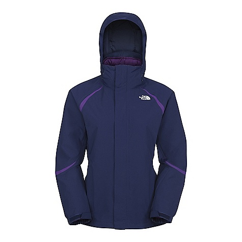 On Sale. Free Shipping. The North Face Women's Deuces Triclimate Jacket DECENT FEATURES of The North Face Women's Deuces Triclimate Jacket Waterproof, breathable, fully seam sealed Adjustable EZD-tach hood Handwarmer zip pockets Internal media security pocket Internal goggle pocket Snap-down powder skirt with elastic gripper Pant-a-locks Adjustable hem system Hook-and-loop adjustable cuffs Buddy lift clip Triclimate: Zip-in compatible, Zip pockets, Internal media security pocket, Elasticated hem The SPECS Shell fabric: HyVent 2L softfaille, bluesign approved Lining fabric: Slick mesh body and recycled solid taffeta Liner jacket fabric: Diamond rip-stop taffeta Liner lining fabric: Recycled solid taffeta Insulation fabric: Heatseeker Eco 100 g This product can only be shipped within the United States. Please don't hate us. - $179.99