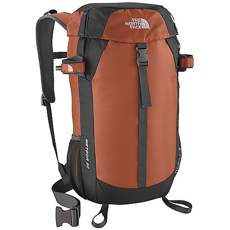 Camp and Hike On Sale. Free Shipping. The North Face Meteor 20 Pack DECENT FEATURES of The North Face Meteor 20 Pack Vertical mesh channel on back panel provides cooling comfort Easy-access top loader Rain cover included FlexVent injection-molded shoulder straps Hydration sleeve and port Mesh side water bottle pockets and trekking pole attachments Imported The SPECS Average Weight: 1 lb 9 oz / 709 g Volume: 1281 cubic inches / 21 liter Dimension: 18.7 x 12.2 x 7.9in. / 48 x 31 x 20 cm Suspension: FlexVent Access: Top H20 Compatible: Yes 420D mini-ripstop nylon 420D dobby nylon This product can only be shipped within the United States. Please don't hate us. - $65.99