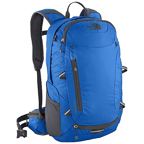 Camp and Hike On Sale. Free Shipping. The North Face Litho 24 Pack DECENT FEATURES of The North Face Litho 24 Pack Helmet attachment comes out of bottom pocket Tricot-lined pocket Rain cover included Hex-mesh on shoulder straps Hydration sleeve and port The SPECS Weight: 1 lb 15 oz / 879 g Volume: 1465 cubic inches / 24 liter Dimension: 19 x 11.5 x 6.5in. / 48 x 30.5 x 16.5 cm H20 Compatible: Yes 70D double ripstop, 210 HT ripstop This product can only be shipped within the United States. Please don't hate us. - $81.99