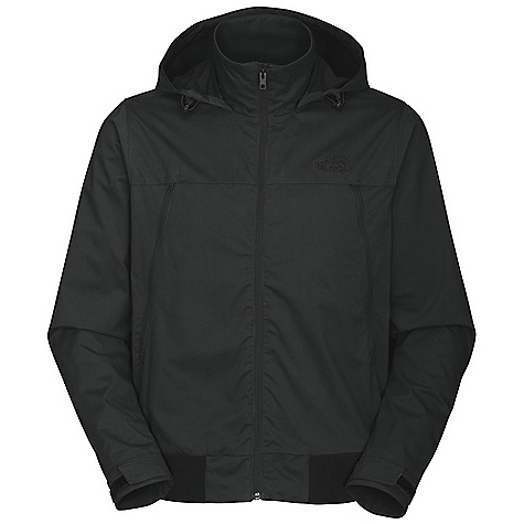 On Sale. Free Shipping. The North Face Men's Novelty Diablo Wind Jacket DECENT FEATURES of The North Face Men's Novelty Diablo Wind Jacket Attached, stowable hood Back cape vent Two alpine pockets Two internal media storage pockets Velcro adjustable cuffs Rib at hem for comfort The SPECS Average Weight: 22.8 oz / 772 g Center Back Length: 27in. 30D 184.0 g/m2 (6.49 oz/yd2) 64% cotton, 28% polyester, 8% nylon This product can only be shipped within the United States. Please don't hate us. - $88.99