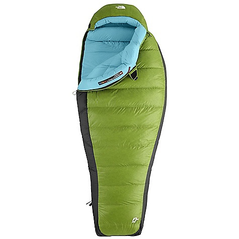 Camp and Hike Free Shipping. The North Face Women's Superlight 0 Degree Sleeping Bag DECENT FEATURES of The North Face Women's Superlight 0 Degree Sleeping Bag Ergonomic face and neck gaskets keep heat in 650+ fill Hungarian grey goose down Tested to EN 13537 Buttery soft fabrics Inspired fit and function Lightweight compression stuffsack Glow-in-The-dark pull-loop on zipper Internal draft tube pockets keep essentials warm and within reach Get a bag 15-20 degrees cooler than what you are using it for if you are a cold sleeper Imported The SPECS Temperature Rating: 0deg F / -18deg C Comfort: 18deg F / -8deg C Limit: 3deg F / -16deg C Extreme: -35deg F / -37deg C Fill: 650+ Down Shape: Mummy Stuffed Size: 7 x 23in. / 18.5 x 58 cm The SPECS for Regular Total Weight: 3 lbs 2 oz / 1420 g Fill Weight: 1 lb 11 oz / 765 g Compressed Size: 578 cubic inches / 9.5 liter The SPECS for Long Total Weight: 3 lbs 6 oz / 1525 g Fill Weight: 1 lb 13 oz / 825 g Compressed Size: 610 cubic inches / 10 liter This product can only be shipped within the United States. Please don't hate us. - $338.95
