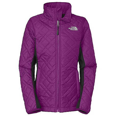 Free Shipping. The North Face Girls' Sibrian Jacket DECENT FEATURES of The North Face Girls' Sibrian Jacket Zip-in and snap-in compatible Zip hand warmer pockets Diamond quilting through body and sleeves Stretch fleece at sleeves and side panels for easier movement ID label Embroidered logo at left chest The SPECS Average Weight: 14.29 oz / 405 g Center Back Length: 22.5in. Body: 40D 69 g/m2 100% polyester rip stop with DWR Side Panels: 220 g/m2 97% polyester, 3% elastane jersey faced fleece Lining: 70D 63 g/m2 100% nylon taffeta Insulation: 100 g Heat seeker Aero This product can only be shipped within the United States. Please don't hate us. - $119.00