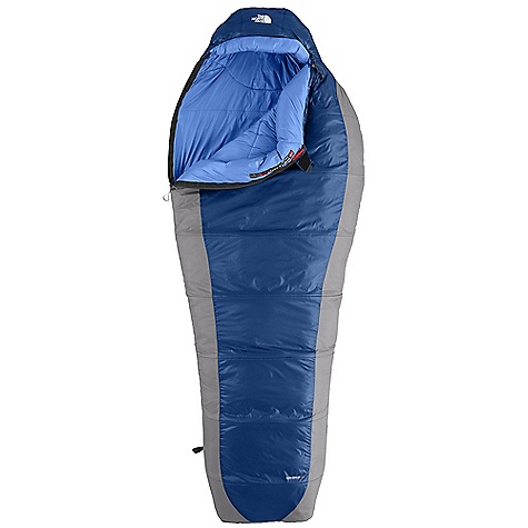 Camp and Hike On Sale. Free Shipping. The North Face Cat's Meow BX DECENT FEATURES of The North Face Cat's Meow BX Climashield Prism shingled construction with Climashield Apex layered against the body Tested to EN 13537 Buttery soft fabrics Inspired fit and function Light compression stuffsack Glow-in-the-dark pull-loop on zipper Internal draft tube pockets keep essentials warm and within reach The SPECS Temperature Rating: 20deg F Fill: Climashield Prism Climashield Apex Shape: Mummy Stuffsack Size: 6.5 x 21in. / 16.5 x 53 cm The SPECS for Regular Total Weight: 2 lbs 11 oz / 1288 g Fill Weight: 1 lb 14 oz / 842 g The SPECS for Long Total Weight: 2 lbs 15 oz / 1332 g Fill Weight: 2 lbs 1 oz / 922 g The SPECS for Extra Long Total Weight: 3 lbs 2 oz / 1425 g This product can only be shipped within the United States. Please don't hate us. - $159.99