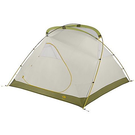 Camp and Hike Free Shipping. The North Face Bedrock 4 Tent DECENT FEATURES of The North Face Bedrock 4 Tent Double doors anddouble vestibules S/R rainfly attachment Comprehensive color-coded pitch Fullyseam-taped, 70D nylon floor / Side vents PU window Steel stakes The SPECS Capacity: 4 Person Average Weight: 15 oz / 425 g Total Weight: 11 lbs 6 oz / 5.16 kg Trail Weight: 10 lbs 7 oz / 4.73 kg Footprint Weight: 15 oz / 0.43 kg Floor Area: 54.9 square feet / 5.1 square meter Vestibules: 2 Vestibules Area: front: 11 square feet / 1 square meter, back: 11 square feet / 1 square meter Peak Height: 60in. Stuffsack Size: 24 x 9in. / 61 x 23 cm Number of Poles: 3 Pole Diameter: 13 mm, 12 mm Doors: 2 Fly: Durable polyester taffeta, 1200 mm PU coating, water-resistant finish Canopy: Lightweight nylon taffeta, water-resistant finish Mesh: Polyester in.No-See-Umin. mesh Floor: Durable nylon taffeta, v5000 mm PU coating, water-resistant finish This product can only be shipped within the United States. Please don't hate us. - $358.95