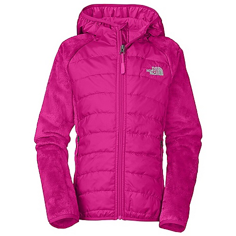 On Sale. Free Shipping. The North Face Girls' Oso Animagi Hoodie DECENT FEATURES of The North Face Girls' Oso Animagi Hoodie Fixed hood Zippered hand pockets Body and hood quilting Elastic binding at cuffs, hood and hem ID label Embroidered logo at left chest and back right shoulder Imported The SPECS Average Weight: 13.40 oz / 380 g Center Back Length: 20in. Body: 265 g/m2 100% polyester high-pile fleece Insulation: 60 g Heatseeker Aero Body and Hood Overlay: 30D 50 g/m2 100% polyester taffeta with DWR finish This product can only be shipped within the United States. Please don't hate us. - $87.99