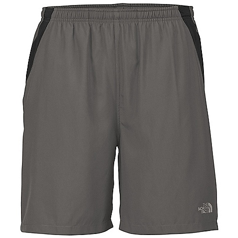 The North Face Men's Reflex Core Short DECENT FEATURES of The North Face Men's Reflex Core Short Elastic waist with drawstring Stash pocket Breathable mesh panels Hand pockets Sanitized Silver treatment at short liner Sanitized Silver anti-odor liner Imported The SPECS Average Weight: 4.94 oz Inseam: regular: 7in., long: 9in. Body: 80 g/m2 100% polyester poplin weave Panel: 124 g/m2 100% polyester tricot, jacquard mesh Liner: 87 g/m2 100% crepe knit This product can only be shipped within the United States. Please don't hate us. - $29.95