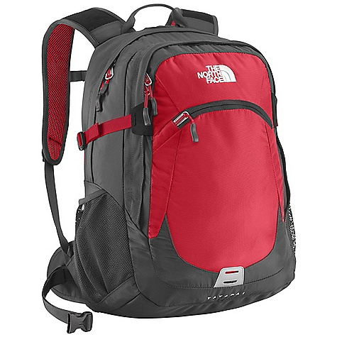 On Sale. Free Shipping. The North Face Yavapai DECENT FEATURES of The North Face Yavapai FlexVent injection-molded shoulder straps with additional PE foam for added comfort Comfortable, padded air-mesh back panel with Spine Channel and PE sheet for extra back support Integrated reflective light loop Winged, stowable hipbelt Large main compartment with variable-sized laptop sleeve, organization and hydration port Secondary compartment with organization Front stash pocket Mesh side water bottle pockets Removable sternum strap The SPECS Average Weight: 2 lbs 10 oz / 1182 g Volume: 1830 cubic inches / 30 liter Laptop Sleeve: 15 x 9.5 x 1.75in. / 38 x 24 x 4.5 cm Dimension: 19 x 13.5 x 11in. / 48.5 x 34 x 28 cm 420D nylon, 600D polyester print, 1680D ballistics nylon This product can only be shipped within the United States. Please don't hate us. - $70.99