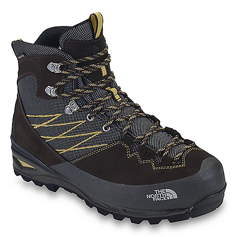 Camp and Hike Free Shipping. The North Face Men's Verbera Lightpacker GTX Boot DECENT FEATURES of The North Face Men's Verbera Lightpacker GTX Boot Upper: Gore-Tex waterproof, breathable membrane Suede leather upper with Panatex ballistic textile Stainless steel upper eyelets and locking instep eyelet Northotic Pro+ premium EVA footbed with gel heel and OrthoLite forefoot-cushioning pads and TPU Cradle support Bottom: TPU Cradle heel-stability technology Three-part, co-molded midsole Agile PU body and EVA heel cushioning Vibram Masai outsole Polypropylene lasting board The SPECS Last: TNF-S12-06 Approx Weight: 1/2 pair: 1 lb 11 oz / 761 g, pair: 3 lbs 6 oz / 1522 g This product can only be shipped within the United States. Please don't hate us. - $224.95