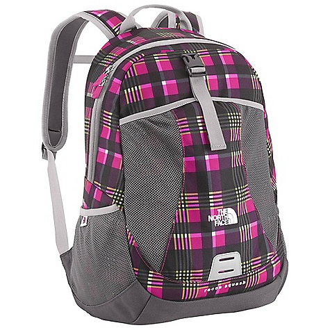 On Sale. Free Shipping. The North Face Kids' Recon Squash DECENT FEATURES of The North Face Kids' Recon Squash Youth-specific shoulder straps with easy-to-use sternum strap Large main compartment that can hold 9.5 x 12in. folders Internal secure zippered pocket to hold precious goodies or lunch tickets Front mesh drop pocket Side mesh water bottle pockets Comfortable, stitched-foam back panel Reflective light loop patch The SPECS Average Weight: 14 oz / 395 g Volume: 1098 cubic inches / 18 liter Dimension: 16.5 x 11 x 9in. / 42 x 27.5 x 23 cm 600D polyester, 1200D polyester This product can only be shipped within the United States. Please don't hate us. - $34.99