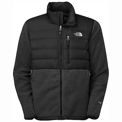 On Sale. Free Shipping. The North Face Men's Denali Down Jacket DECENT FEATURES of The North Face Men's Denali Down Jacket Zip-in-compatible integration with complementing garments from The North Face Abrasion-reinforced shoulders and chest Secure Napoleon pocket Two secure-zip hand pockets Elastic-bound cuffs Media pocket The SPECS Average Weight: 26.81 oz / 760 g Center Back Length: 28in. Body: Recycled Polartec 300 Series fleece with DWR Abrasion: laundered two-ply nylon (bluesign approved fabric) This product can only be shipped within the United States. Please don't hate us. - $138.99