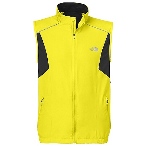Free Shipping. The North Face Men's Torpedo Vest DECENT FEATURES of The North Face Men's Torpedo Vest Layered venting system Reflectivity Body-mapped ventilation Cape venting Hand pockets Hem cinch Drop tail MP3 pocket with cord hole The SPECS Center Back Length: 27.5in. 76 g/m2 100% polyester This product can only be shipped within the United States. Please don't hate us. - $74.95