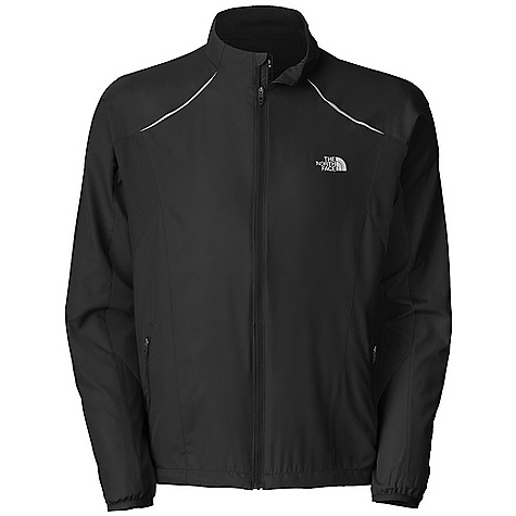 On Sale. Free Shipping. The North Face Men's Torpedo Jacket DECENT FEATURES of The North Face Men's Torpedo Jacket DWR coating Reflectivity Body-mapped ventilation Cape venting Hand pockets Hem cinch Ambidextrous rear pocket Drop tail MP3 cord hole The SPECS Center Back Length: 27.5in. Body: 76 g/m2 100% polyester Panel: 115 g/m2 100% polyester mesh This product can only be shipped within the United States. Please don't hate us. - $69.99