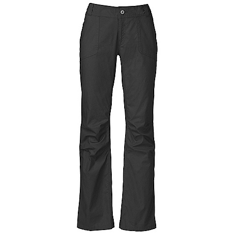 Free Shipping. The North Face Women's Dyno Pant DECENT FEATURES of The North Face Women's Dyno Pant Belt loops and button front closure Two deep hand pockets Two rear pockets with one secure-zip pocket Crotch gusset for mobility Articulated knees Gusseted crotch Active fit Ultraviolet Protection Factor (UPF) 30 Two back pockets Imported The SPECS Average Weight: 11.29 oz / 320 g Inseam: short, regular, long 162 g/m2 (4.698 oz/yd2) 98% cotton, 2% elastane This product can only be shipped within the United States. Please don't hate us. - $69.95