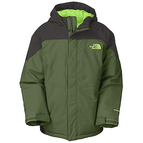 On Sale. Free Shipping. The North Face Boys' Insulated Durant Jacket DECENT FEATURES of The North Face Boys' Insulated Durant Jacket Waterproof, breathable, fully seam sealed Zip hand warmer pockets Fixed insulated hood Internal media pocket Key clip Glove clip Goggle cloth Adjustable draw cord system at hem Adjustable cuff tabs with Velcro closure System map on interior of garment outlines jacket features ID label Embroidered logo at left chest and back right shoulder Imported The SPECS Average Weight: 30 oz / 820 g Center Back Length: 24in. Body: 75D 105 g/m2 HyVent 2L-100% polyester printed plain weave Lining: 40D 70 g/m2 100% nylon taffeta Insulation: 250 g Heat seeker Aero This product can only be shipped within the United States. Please don't hate us. - $90.99