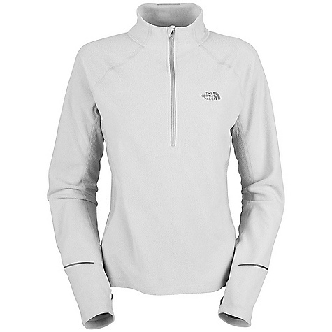 On Sale. Free Shipping. The North Face Women's TKA 80 Hybrid 1-2 Zip DECENT FEATURES of The North Face Women's TKA 80 Hybrid 1/2 Zip Performance fit Hybrid micro-fleece and oval knit body-mapped construction Dual stash pockets on back panels Reflective logos and sleeve tape VaporWick panels Imported Layered venting system Lightweight micro-fleece Thumb loops Back stash pocket Reflective piping and graphic The SPECS Average Weight: 7.7 oz Center Back Length: 24.75in. Body: 150 g/m2 (4.4 oz/yd2) 100% polyester micro-fleece Panel: 160 g/m2 (4.7 oz/yd2) 100% polyester oval double-knit This product can only be shipped within the United States. Please don't hate us. - $47.99