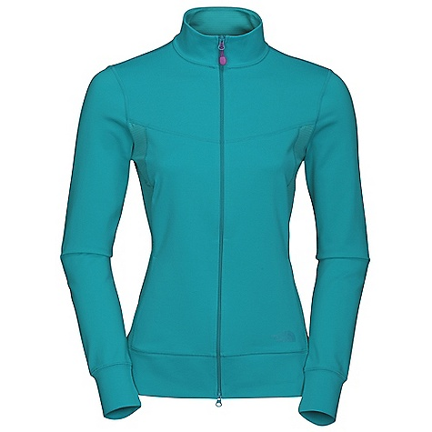 Free Shipping. The North Face Women's Tadasana VPR Jacket DECENT FEATURES of The North Face Women's Tadasana VPR Jacket New hooded silhouette Two-way asymmetrical zip Ruching details Thumb loops Contrast zigzag stitch The SPECS Center Back Length: 25.5in. Body: 251 g/m2 92% recycled polyester, 8% Lycra elastane jersey knit Panel: 140 g/m2 90% polyester, 10% elastane knit mesh This product can only be shipped within the United States. Please don't hate us. - $79.95