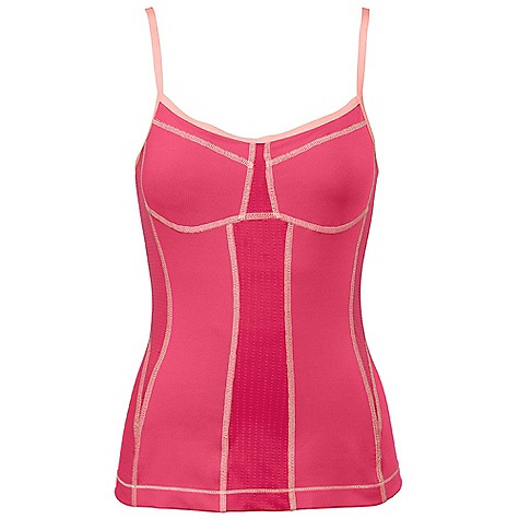 Fitness On Sale. Free Shipping. The North Face Women's Balance Tank DECENT FEATURES of The North Face Women's Balance Tank Body-mapped support and breathability Internal shelf bra Contrast seaming The SPECS Center Back Length: 22.5in. Body: 260 g/m2 45% polyester, 45% polyester Coolmax, 10% elastane Panel: 191 g/m2 86% polyester, 14% elastane This product can only be shipped within the United States. Please don't hate us. - $41.99