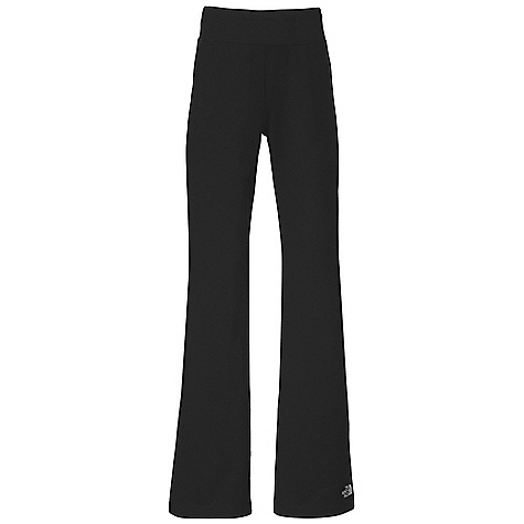 The North Face Girls' Motion Pant DECENT FEATURES of The North Face Girls' Motion Pant Set-in covered elastic waistband Relaxed fit Reflective logo at left leg hem The SPECS Average Weight: 9 oz / 250 g Inseam: 25in. 40D 300 g/m2 93% cotton 7% Elastane jersey This product can only be shipped within the United States. Please don't hate us. - $34.95