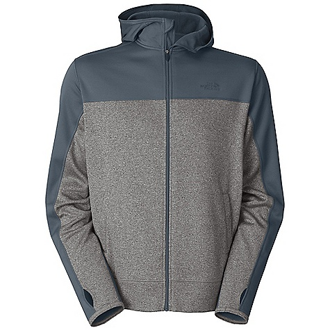 Free Shipping. The North Face Men's Surgent Full Zip Hoodie DECENT FEATURES of The North Face Men's Surgent Full Zip Hoodie Relaxed fit Hand pockets Hidden media pocket Thumb loops Ultraviolet Protection Factor (UPF) 50 Imported The SPECS Center Back Length: 27.75in. 210 g/m2 (6.2 oz/yd2) 100% polyester jersey-faced fleece-UPF 50 Sanitized Silver anti-odor treatment This product can only be shipped within the United States. Please don't hate us. - $64.95