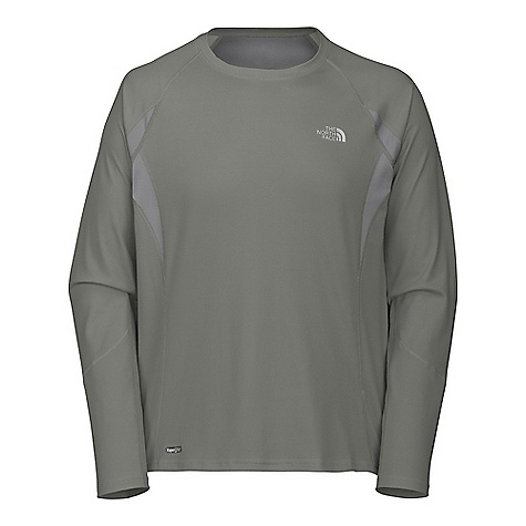 On Sale. The North Face Men's GTD Long Sleeve Shirt DECENT FEATURES of The North Face Men's GTD Long Sleeve Shirt Layered venting system Wicking and quick-dry fabric properties Mesh inserts Reflective logos The SPECS Body: 105 g/m2 (3.1 oz/yd2) 51% polyester, 49% Minerale polyester closed-hole mesh-wicking, UPF 30 Mesh Panel: 124 g/m2 (3.7 oz/yd2) 100% polyester jacquard mesh   This product can only be shipped within the United States. Please don't hate us. - $26.99