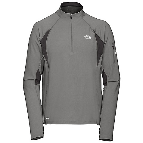 On Sale. Free Shipping. The North Face Men's Impulse 1-4 Zip DECENT FEATURES of The North Face Men's Impulse 1/4 Zip Layered ventilation system Thumbholes Security pocket Reflective logos Imported The SPECS Average Weight: 8.5 oz Center Back Length: 27in. Body: 198 g/m2 (5.8 oz/yd2) 88% polyester, 12% elastane-wicking Panel: 160 g/m2 (4.7 oz/yd2) 100% polyester oval double-knit This product can only be shipped within the United States. Please don't hate us. - $44.99